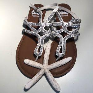 Fergalicious by Fergie Shimmery Sandals